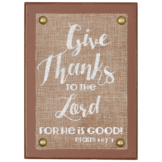 Give Thanks to the Lord Sign box sign, home decor, table decor, inspirational message, inspiring sign, thanksgiving, 68404