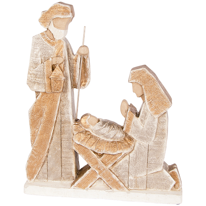 "16"" Holy Family Statue figurine, holy family, statue, home decor, christmas decor, holiday decor, 68531"