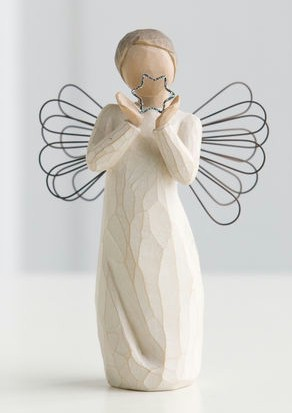 Willow Tree™ Bright Star Figure Willow tree, figure, collectables, special occasion, sacramental, gift, statue, collection, carved, susan lordi,bright star, 26150