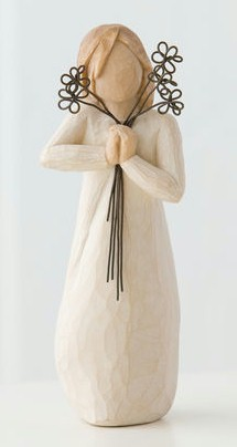 Willow Tree™ Friendship Figure Willow tree, figure, collectables, special occasion, sacramental, gift, statue, collection, carved, susan lordi,friend, friendship, 26155