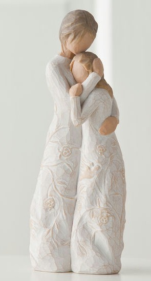 Willow Tree™ Close To Me Figure Willow tree, figure, collectables, special occasion, sacramental, gift, statue, collection, carved, susan lordi,close to me, family, friend,26222
