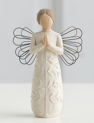 Willow Tree™ A Tree, A Prayer Figure Willow tree, figure, collectables, special occasion, sacramental, gift, statue, collection, carved, susan lordi,a tree, a prayer,26170