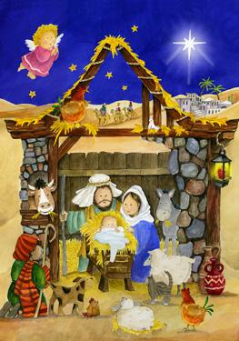 Saviors Stable Advent Calendar