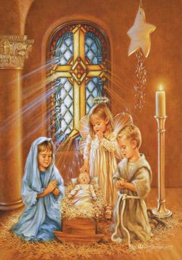 Children%27s Nativity Advent Calendar