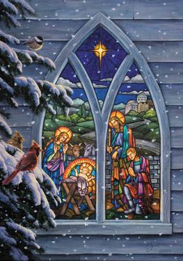 Nativity Window Advent Calendar