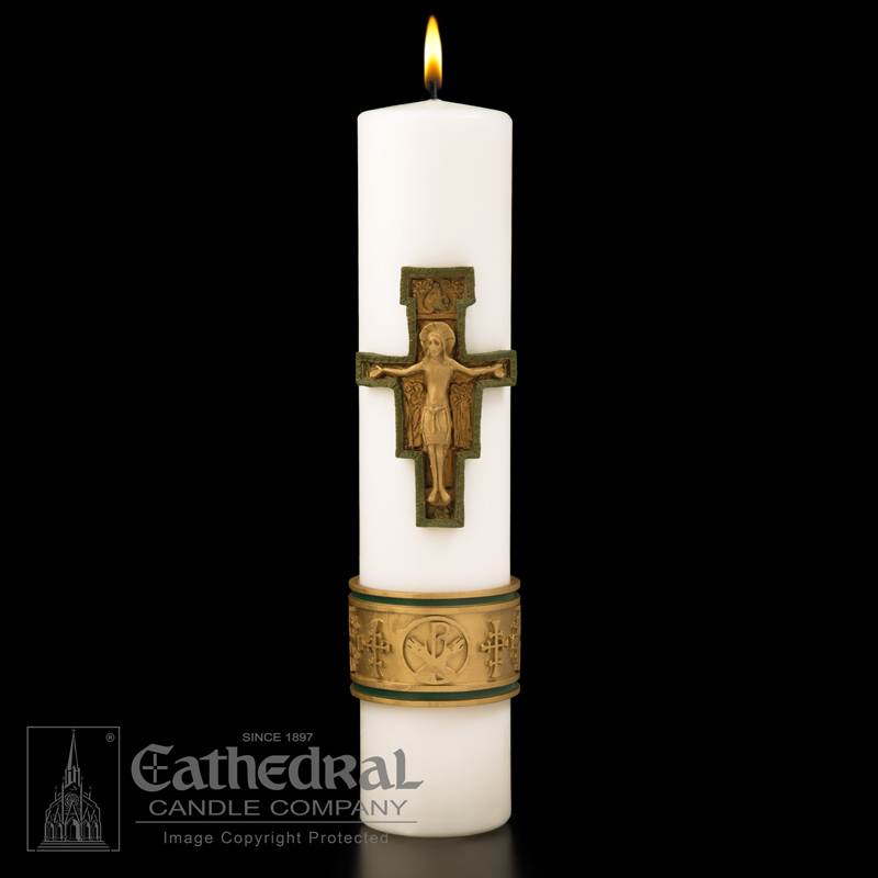Cross of St Francis™ SCULPTWAX® Christ Candle Cross of St Francis™ SCULPTWAX® Christ Candle,84601101
