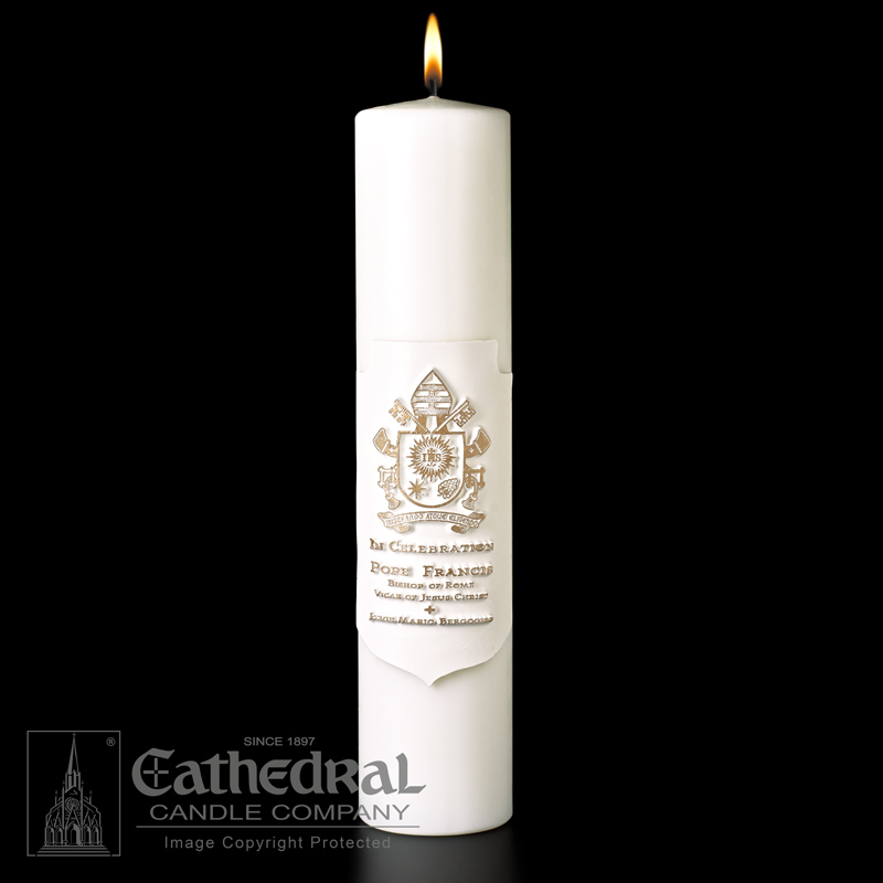 Pontifical Sculptwax® Candle Pontifical Sculptwax® Candle,9846