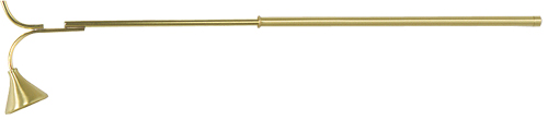 K145 Telescoping Brass Candle Lighter K145 Telescoping Brass Candle Lighter