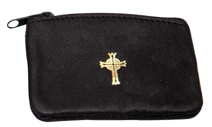 K3007 Zipper Rosary or Pyx Case K3007 Zipper Rosary or Pyx Case, pyx, burse, host box