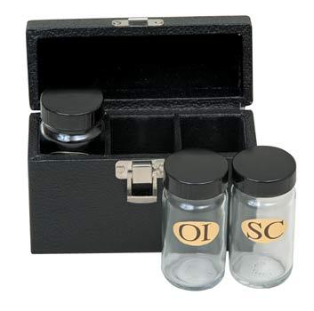 K43 Sacristy Oil Set K43 Sacristy Oil Set, ambry set, holy oil, chrismatory set, chrismatory oil