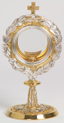 K679 Chapel Monstrance K679 Chapel Monstrance, monstrance, ostensorium, luna, thabor, exposition, host, chapel monstrance