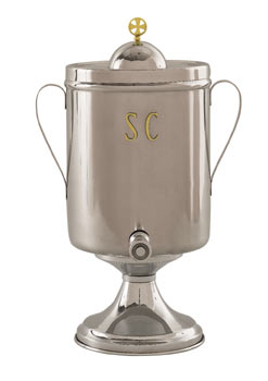 K69 Bishop Urn for Holy Oil K69 Bishop Urn for Holy Oil, urn, holy oil urn, holy oil, bishop urn, chrismatory oil, chrismatory urn