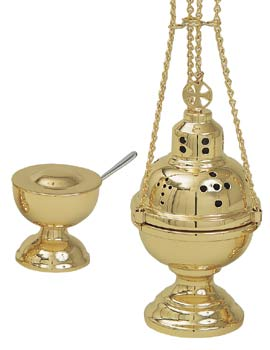 K701 Censer & Boat K701,censer and boat,censer,boat,boat with spoon,incense spoon,eastern rite censer and boat,incense burner,incense,charcoal,4 chain censer with boat,four chain censer