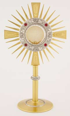 K705 Monstrance K705 Monstrance, monstrance, ostensorium, luna, thabor, exposition, host, chapel monstrance