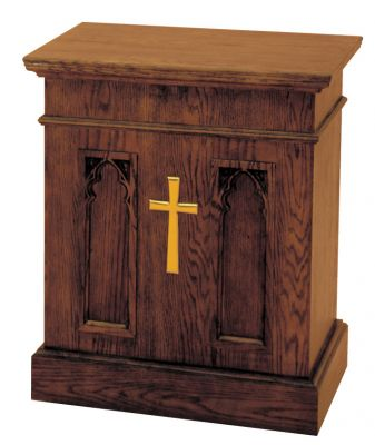 1240 Offertory Table church furniture, church goods, wood furniture, alter furniture, church pedestal, church stand, church table, flower stand, altar stand, tabernacle stand, offertory table, credence table communion table, 1240