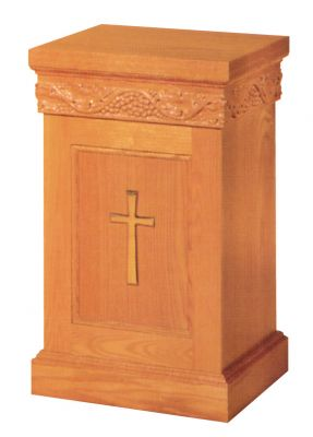 1440 Offertory Table church furniture, church goods, wood furniture, alter furniture, church pedestal, church stand, church table, flower stand, altar stand, tabernacle stand, offertory table, credence table communion table, 1440