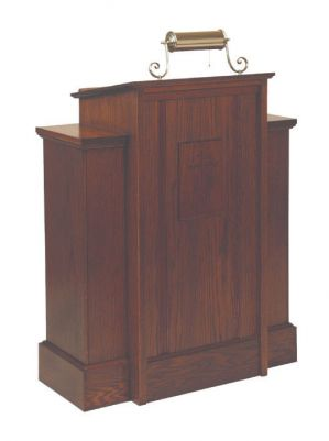 165 Pulpit lectern, pulpit, church furniture, church goods, lecter table, wood lectern, wood pulpit, preacher stand, 165