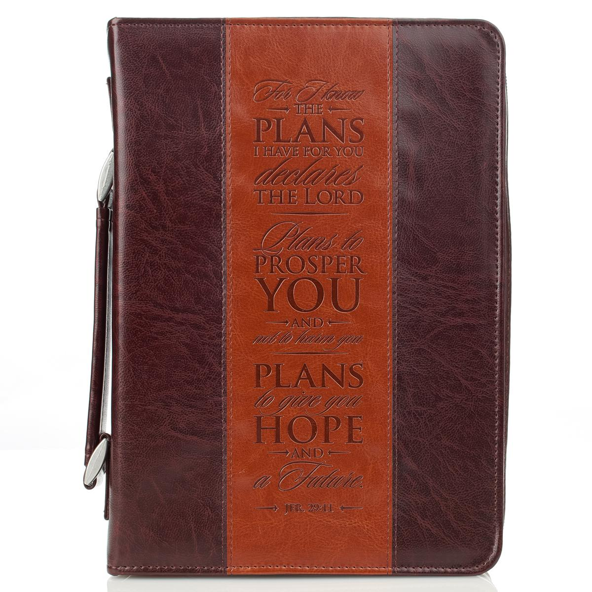 I Know the Plans Large Bible Case BBL593, bible cover, bible case, carry case, bible protector, minister gift, clergy gift