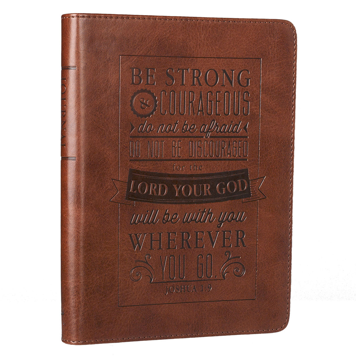 Be Strong and Couragous Journal journal, prayer journal, written journal,writing journal, personal gift, JL213
