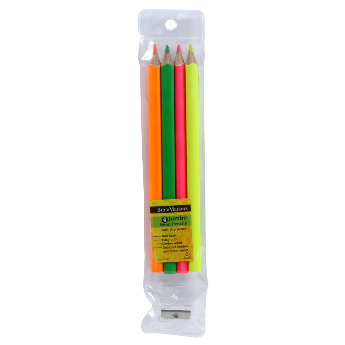 BibleMarkers with Sharpener markers, bible markers, colored pencils, highlighters, PCST236