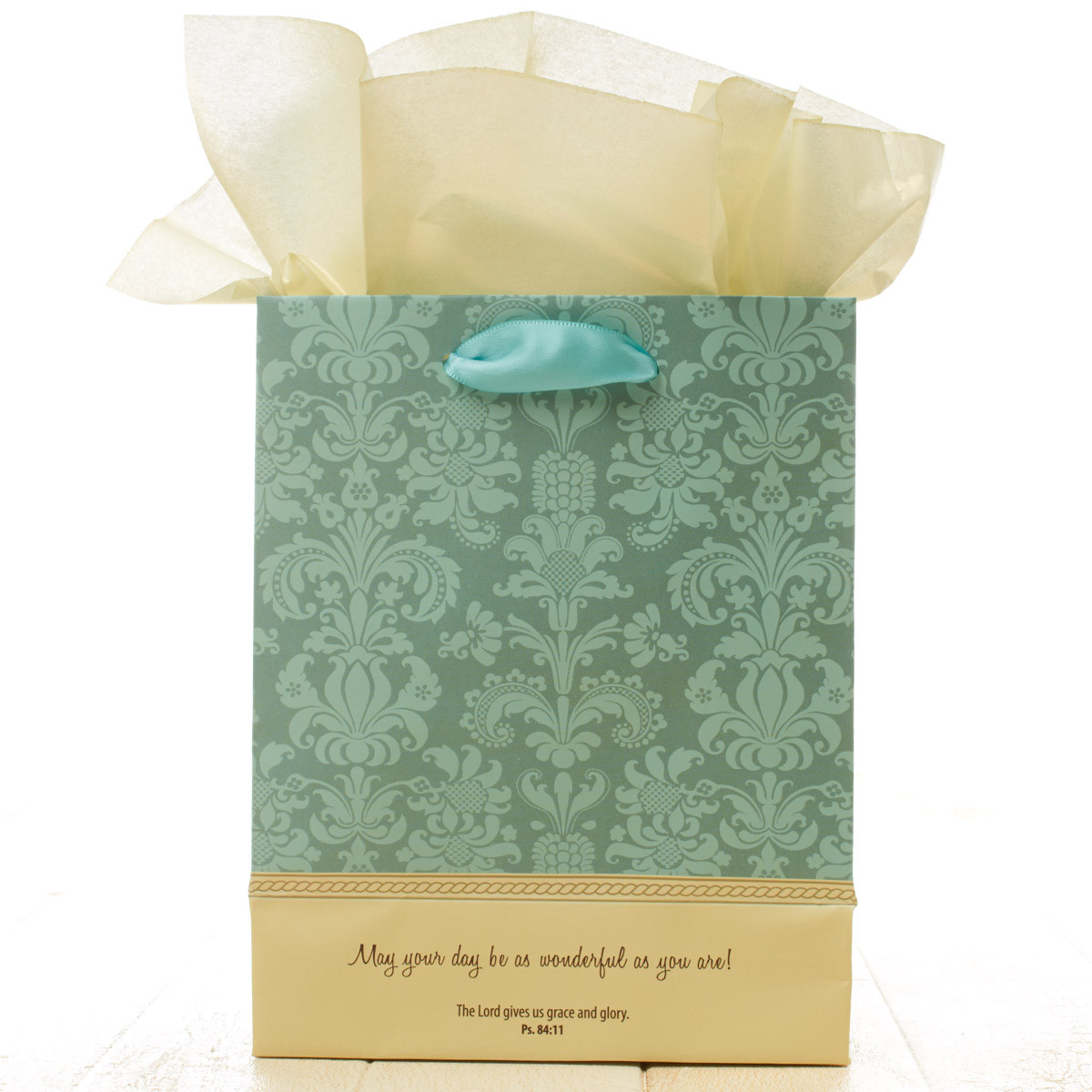 May your day be wonderful small Gift Bag gift bag, small gift bag, tissue and bag, gift wrap, GBA009