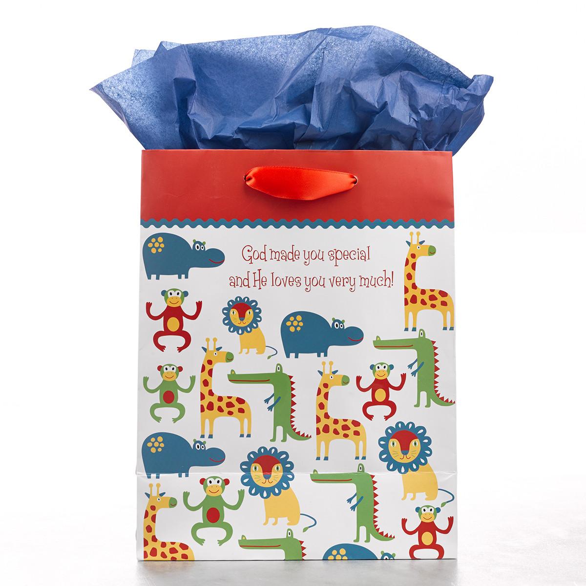 A Little Surprise Medium Gift Bag gift bag, medium gift bag, tissue and bag, gift wrap, GBA036