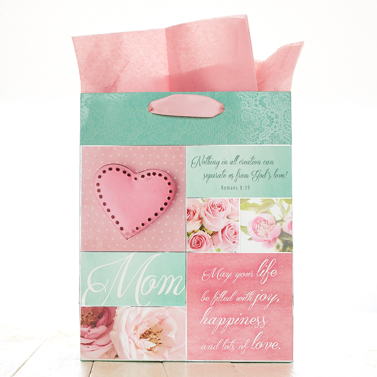Mom Medium Gift Bag gift bag, medium gift bag, tissue and bag, gift wrap, mothers day, mom,GBA116