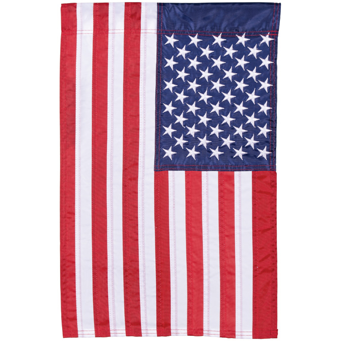 American Flag Garden Flag garden flag, house flag, occasion flag, outdoor flag, landscape, decorative flag, yard flag, new house gift, holiday gift, patriotic, memorial55048