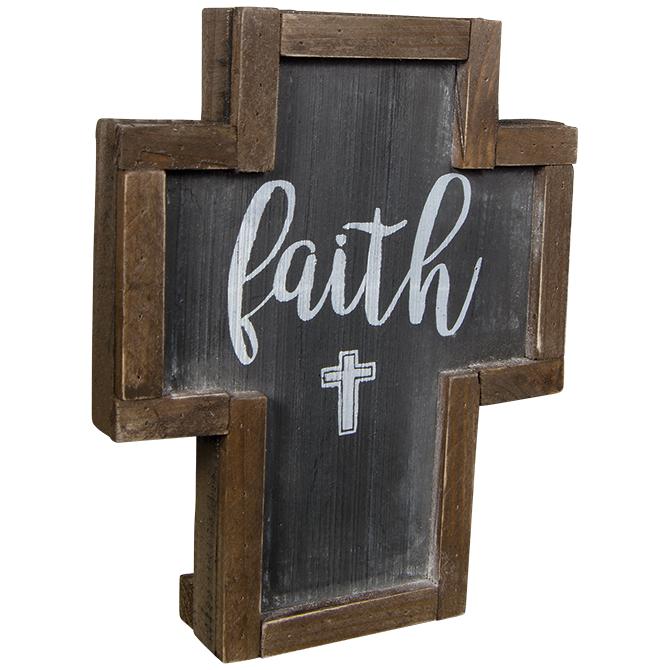 Faith Rustic Cross cross, standing cross, pedestal cross, faith cross, home d?cor, 14165