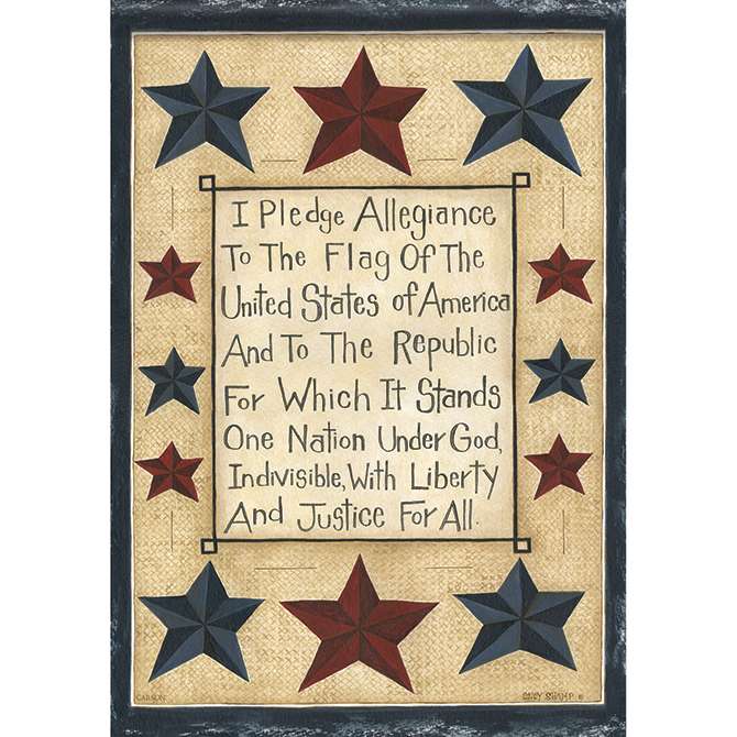 Pledge of Allegiance Garden Flag garden flag, house flag, occasion flag, outdoor flag, landscape, decorative flag, yard flag, new house gift, holiday gift, patriotic, memorial46494