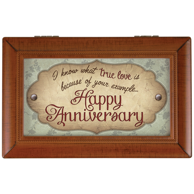 Anniversary Music Box music box, keepsake box, wedding gift, engagement gift, anniversary gift, spouse gift, 18200