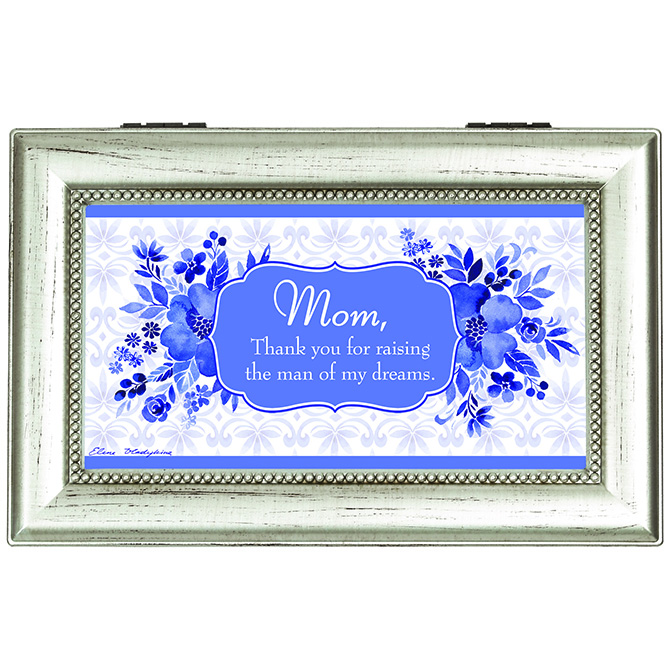 Mom, Thank You- Music Box music box, trinket box, jewelry box, lined box, mom music box, mom gift, mother music box, mother gift, 18530