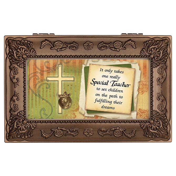 Teacher%27s Prayer Music Box teacher music box, teacher gift, end of school gift, keepsake box, jewelry box, 18618