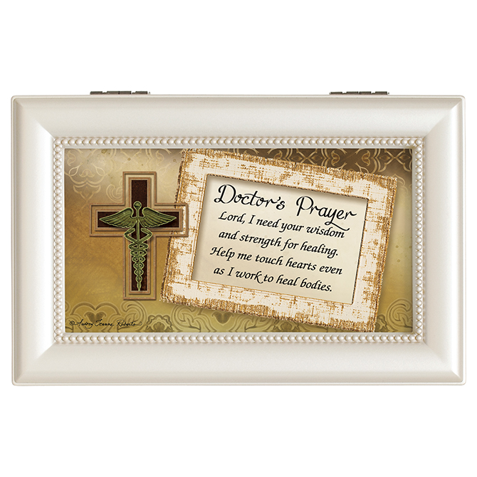 Doctor%27s Prayer Music Box doctor music box, doctor gift, MD gift, keepsake box, jewelry box, 18620