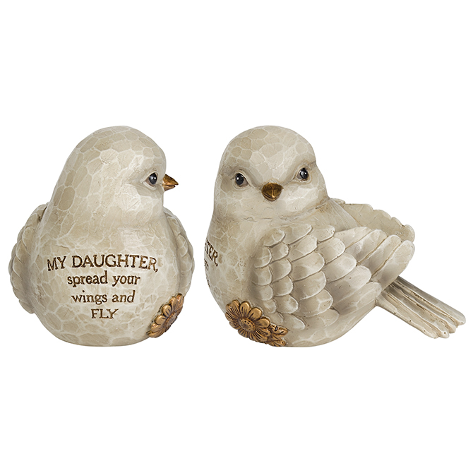 Daughter Little Bird home decor, bird decor, friendship bird, friend gift, birthday gift, bird statue, 64583, daughter gift, child gift, graduation gift,