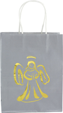 Gold Angel Gift Bag gift bag, religious gift bag, sacramental gift bag, christian gift bag, RSSTW-57