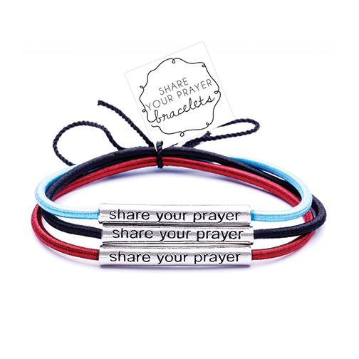 Assorted Share Your Prayer Bracelet 22042, bracelet, gift, retreat gifts, prayer bracelets, prayer gifts, inspirational gift, sacramental gift