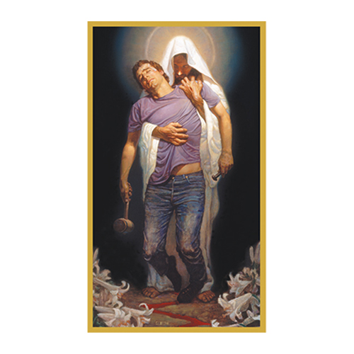 Forgiven Witness Card WIT-01, prayer card, witness card, forgiven card, jesus card