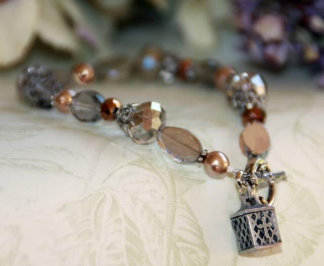 Prayer Box Bracelet prayer box, bracelet, jewelry, message bracelet, prayer bracelet, in-353