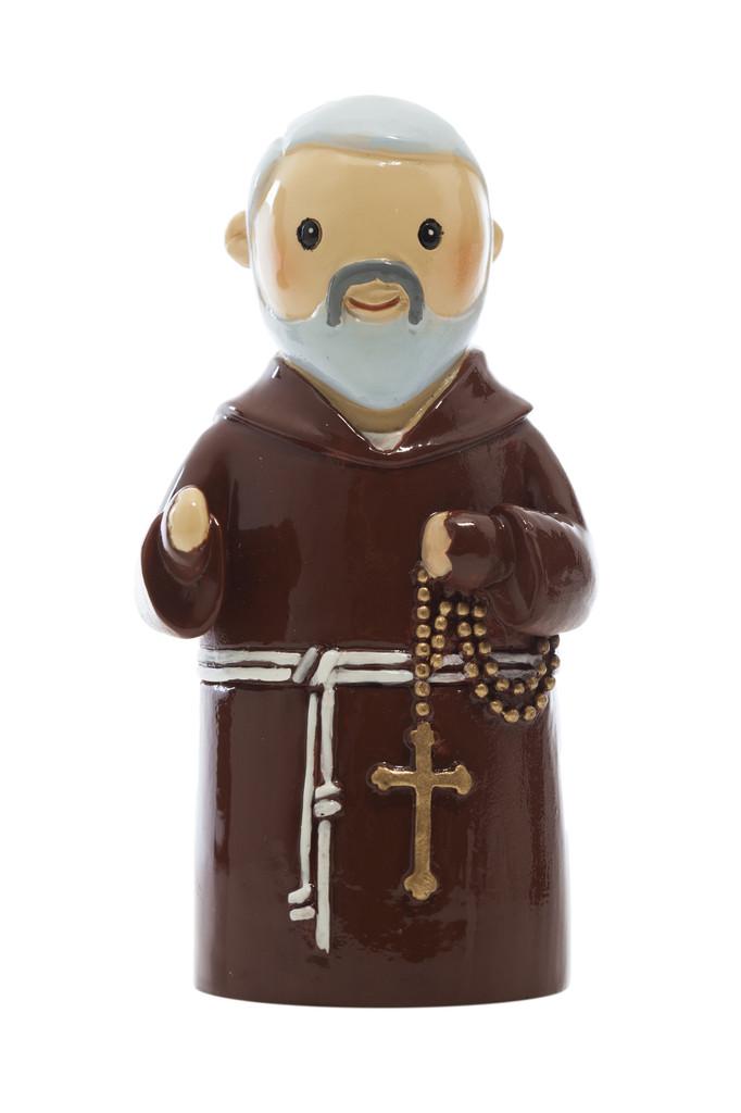 Padre Pio Statue statue, resin, portugal, saint statue, gift, sacramental gift, stocking stuffer,padre pio, patron saint statue
