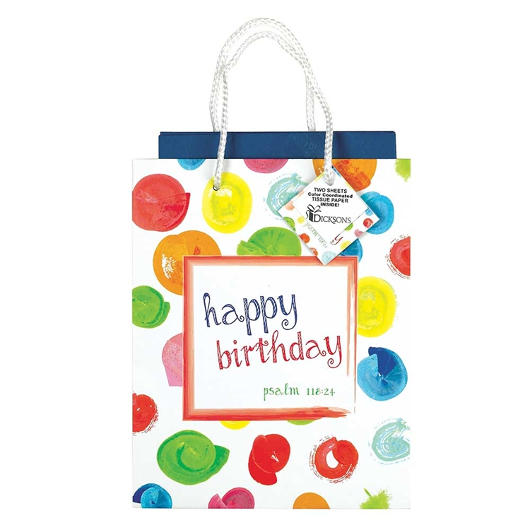 Happy Birthday Medium Gift Bag gift bag, tissue, gift wrap, party supplies, birthday gift, birthday bag,