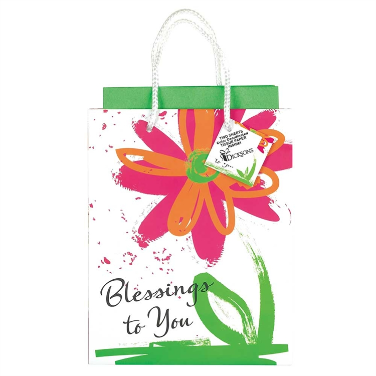 Blessings to You Medium Gift Bag gift bag, tissue, gift wrap, party supplies, birthday gift, birthday bag, sacramental gift, blessing gift bag