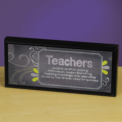 Teacher Mini Plaque 56488U, teacher gift, teacher message, plaque, teacher plaque, inspirational gift, school gift