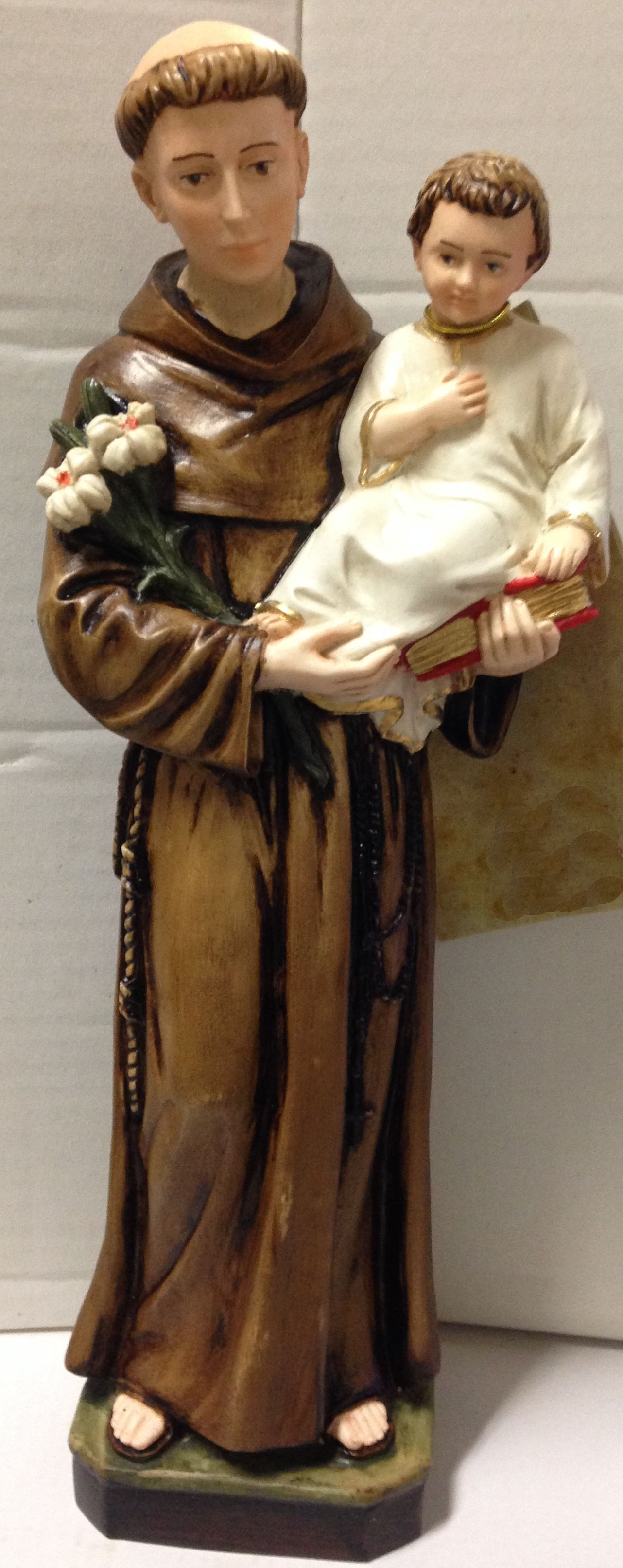 St. Anthony of Padua Statue statue, st. anthony, home decor, church decor, saint statue, 4025101
