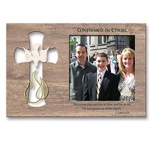 Confirmation Frame  confirmation frame, comfirmation gift, sacramental gift, picture frame, wood frame, 4047235