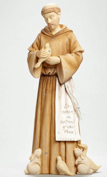 Foundations St. Francis Figure st. francis, foundations, statue, figure, patron saint animals,4044083