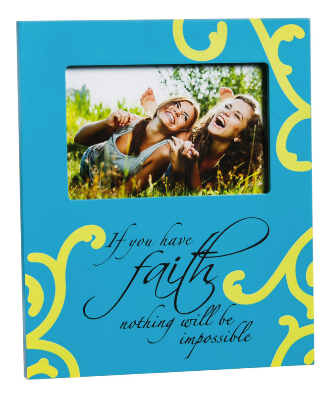 Faith Frame  photo frame, faith frame, spirirtual frame, sacramental gift, 8pfw122