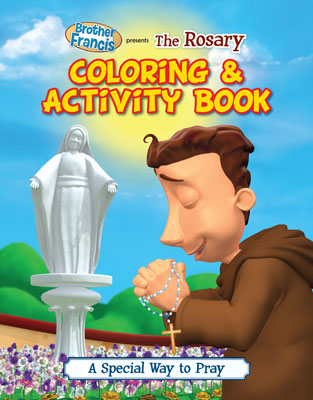 The Rosary a Special Way to Pray Coloring and Activity Book coloring book, activity book, stocking stuffers, childs gift, kids gift, school coloring book, sunday school coloring book, christmas gift, sacramental gift,9780983809616