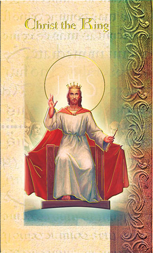 Christ The King Biography Card