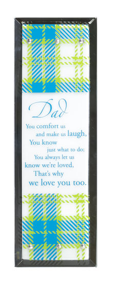 Jeweled Mirror-Dad 124491,fathers day gift, gift, dad gift, wall decor, home plaque, wall plaque, message plaque